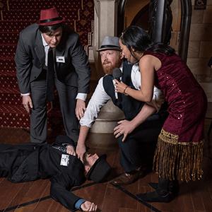 Billings Murder Mystery Crime Scene