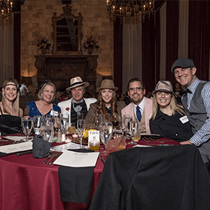 Billings Murder Mystery party guests at the table